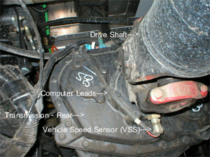 BigRigs SemiTrucks Speed Sensor Location